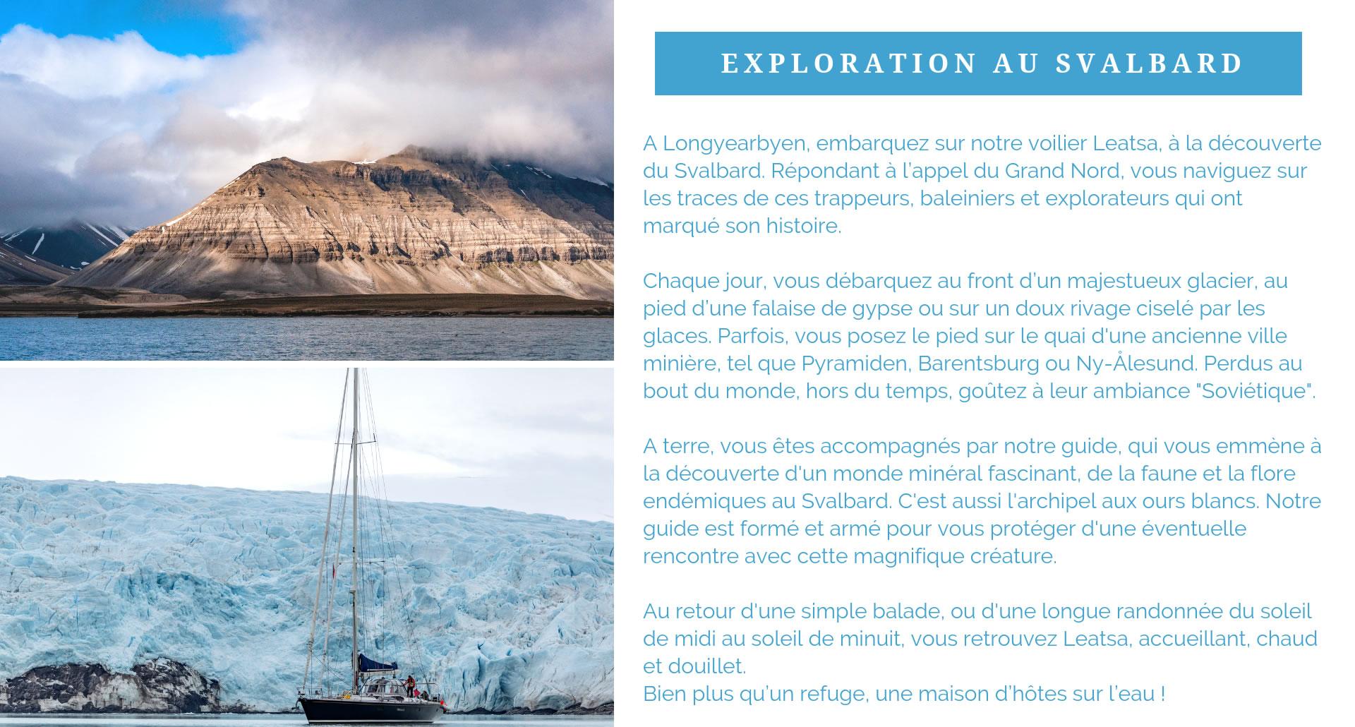 Exploration du Svalbard
